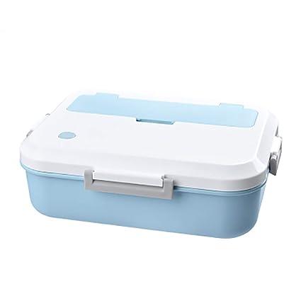 Frühstücksbox Brotdose Grid Design Tragbar Picknick Mikrowellengeeignet