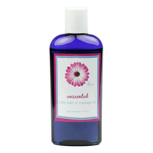 Vaporizing Blend Baby Massage Oil by MoonDance Soaps - All Natural Massage Oil with Jojoba Oil and Essential Oils MoonDance Soaps & More BBY-OIL-VAP