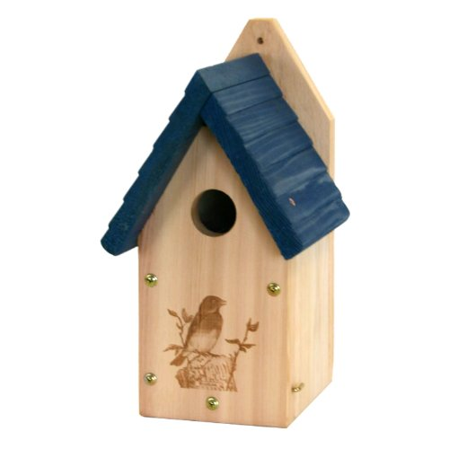 Woodlink Wooden Garden Bluebird House Review