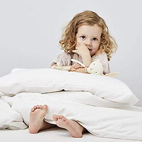 Value Comfort Home Nursery Baby Toddler Junior Cot Bed Anti-Allergy Super Soft Microfibre Feels like Down Duvet Quilt or Pillow Cot Duvet 9.0 tog