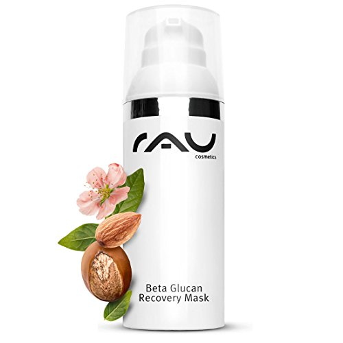 (RAU Beta Glucan Recovery Mask (50 ml / 1.7 oz) - soothing cream mask for stressed skin)