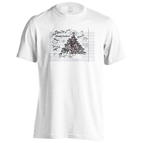 Neuer Süßer Weihnachtsbaum Herren T-Shirt l533m