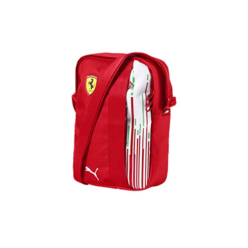 (Ferrari Scuderia F1 Racing Team Puma Shoulder Bag Red Official 2018)