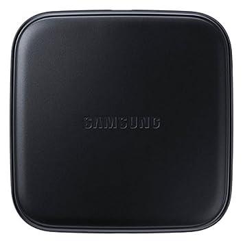 Samsung EP-PA510BBEGWW - Cargador inalámbrico Galaxy S6, S6 Edge, S6 Edge+, Color Negro- Versión española
