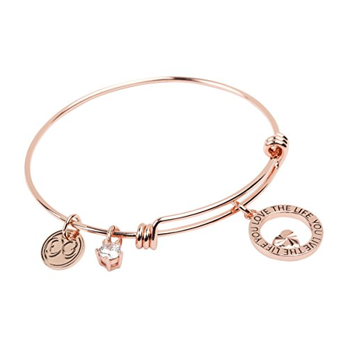 Stackable Bangle (Expandable Charm Bracelet