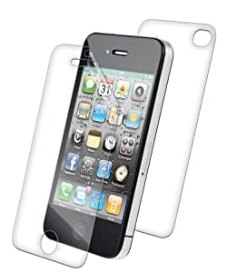 ZAGG APLIPHONE4GLE InvisibleShield for Apple iPhone 4, Full Body (Clear)