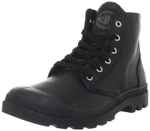 Palladium Men's Pampa Hi Leather Boot,Black,10.5 M