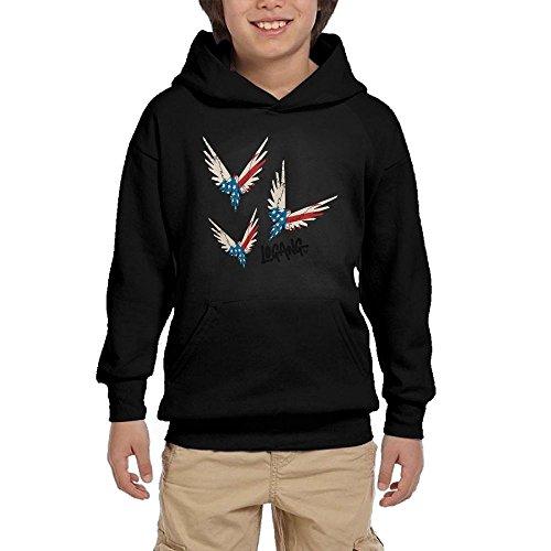Lodakinss Logan Paul Sweatshirt Mens Maverick Logo Men's Custom Long Sleeve Hoodies XL Black