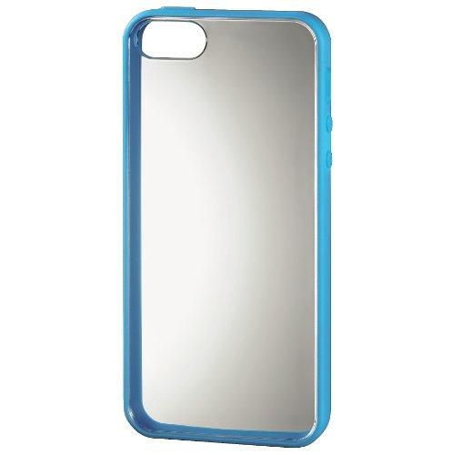 Hama Cadre Coque pour téléphone portable Apple iPhone 5–Bleu