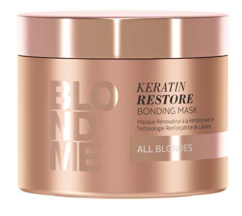 BLONDME Keratin Restore Bonding Mask for All Blondes, 6.76-Ounce