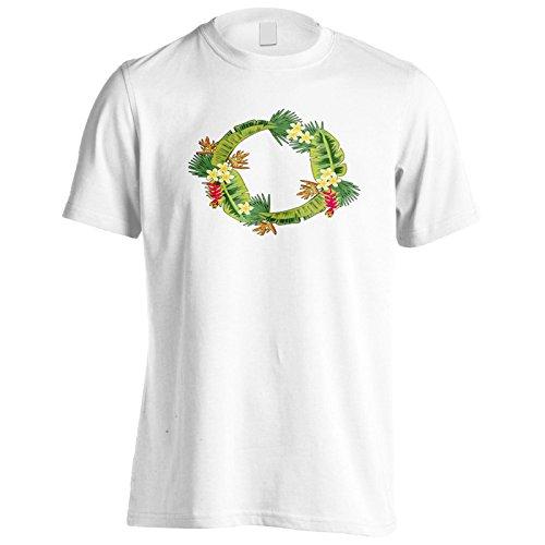 Neuer Blumenring Schön Herren T-Shirt l145m