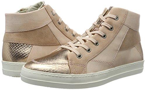 Tamaris rose 25222 Women''s Hi top Metl comb 532 Sneakers Pink pHrpqxn