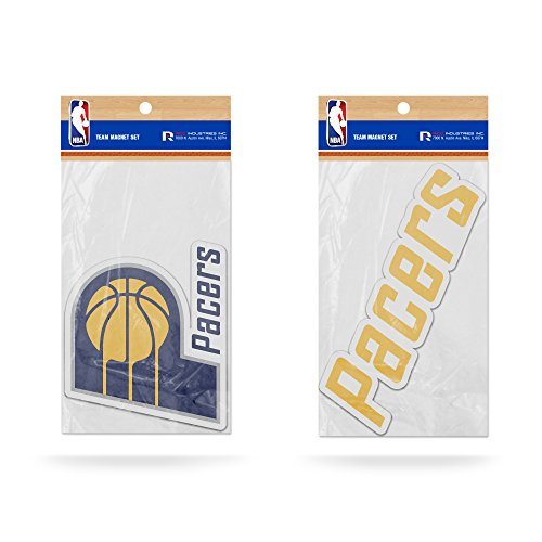 Rico NBA Indiana Pacers 2-Pack Magnet (Indiana Pacers Nba Car)