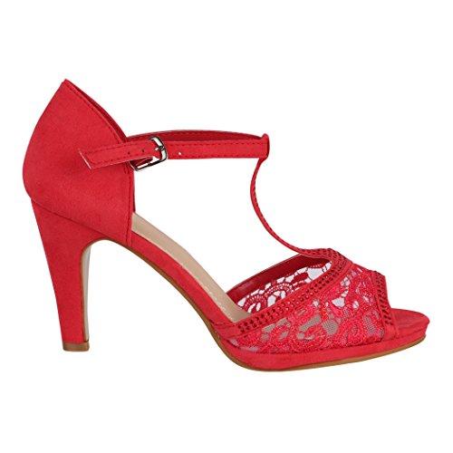 Elara Escarpins Rouge Elara Rouge pour Escarpins pour Femme Femme Elara xC1wOWaq