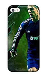 New Diy Design Cristiano Ronaldo Goal For Iphone 5/5S Phone Case Cover Comfortable For Lovers And Friends For Christmas Gifts(3D PC Soft Case)