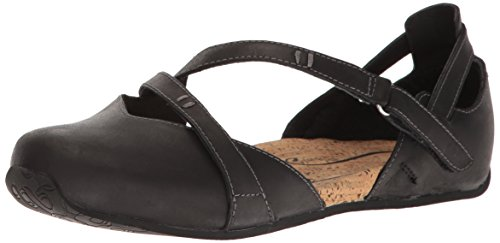Ahnu Women's 1014335 Flat, Black, 8.5 M US