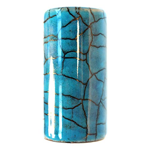 (Blue Lagoon Ceramic Guitar Slide (Medium))