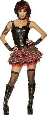 Adult American Punk Costume