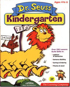 Cd Rom Kids Game Pc - Dr. Seuss Kindergarten