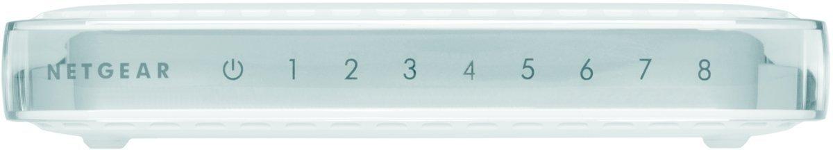 NETGEAR 8-Port Gigabit Ethernet Unmanaged Switch (GS608NA) by Netgear