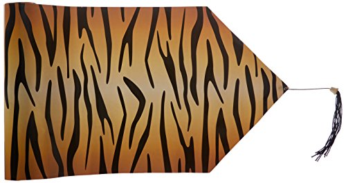 Beistle 54062 Printed Tiger Print Table Runner, 11