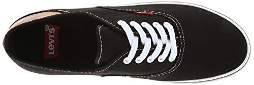 Levis Heren Jordy Buck Fashion Sneaker Zwart / Bruin