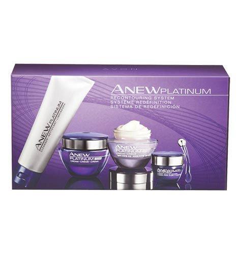 Avon Anew Platinum Recontouring System Kit 4 FULL SIZE PRODU