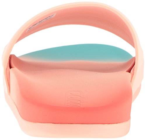 adidas Damen Adilette Cf + Fade W Athletic Sandale Easy Coral Haze Koralle Easy Mint S