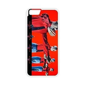 iPhone 6 Plus 5.5 Inch Cell Phone Case Covers White Kraftwerk P5M8F