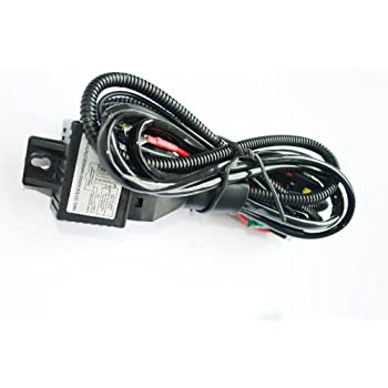 41%2BmveNyMDL._SL500_AC_SS350_ amazon com 35w 12v hid xenon h4 9003 hi lo controller relay jc wire harness at reclaimingppi.co