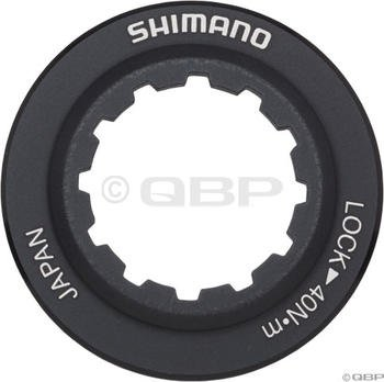 Shimano RT98 Centerlock Disc Rotor Lockring Black/Alloy