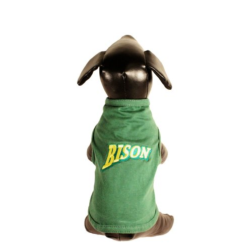 NCAA North Dakota State Bison Cotton Lycra Dog Tank Top, X-Small