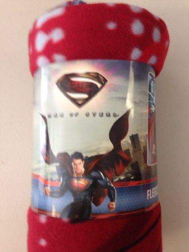 """Fleece Throw - DC Comics - Superman - Man Of Steel 46""""x60"""" Blanket"""