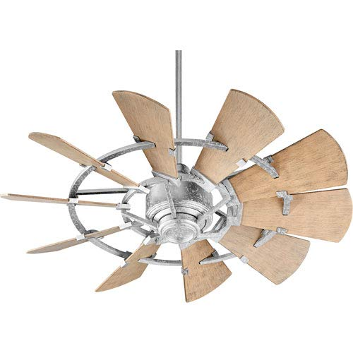 Mill & Mason Somerset Galvanized 44-Inch Patio Fan
