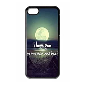 meilinF000I love you to the moon and back New Fashion Case for iphone 5/5s, Popular I love you to the moon and back CasemeilinF000