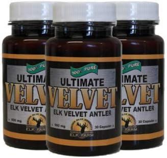 Ultimate Elk Velvet Antler- 3 Pack