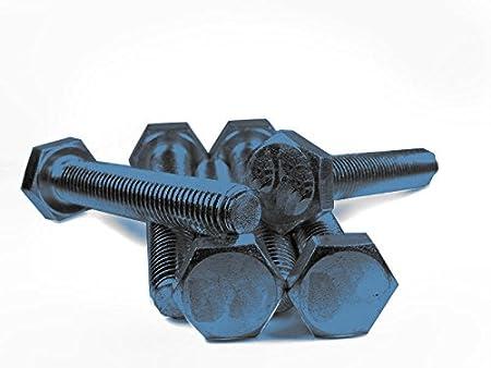 25 Sechskantschrauben DIN 933 10.9 schwarz M20x60
