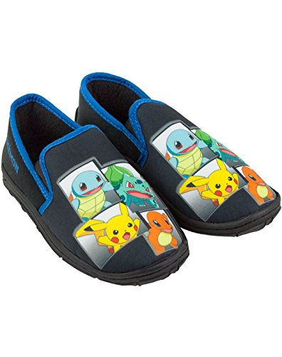 Pokemon Characters Boys Slippers