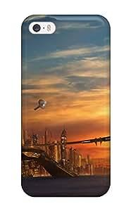 New Tpu Hard Case Premium Iphone 5/5s Skin Case Cover(vehicle Sci Fi)