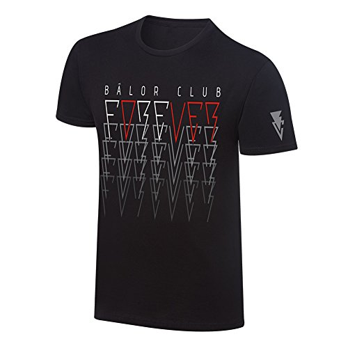 "WWE Finn Bàlor ""Bàlor Club Forever"" T-Shirt Black Large by WWE Authentic Wear"