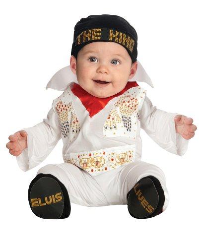Baby Elvis Costumes Halloween (Elvis Baby Costume - Newborn)