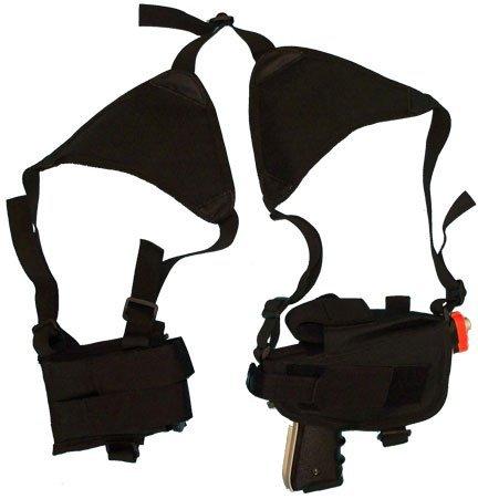 - Generic Tactical Cross Draw Shoulder Holster--BLACK