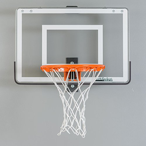 Wall Mounted Mini Basketball Hoop - Mini Pro 1.0 (Mini Basketball Hoop For Bedroom)