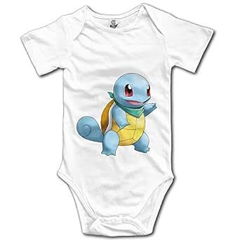Amazon.com: Animal Cute Squirtle Pokemon Cute Baby Onesie