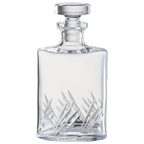 Eisch Glas Cut Crystal Glass Spirit Decanter 1000ml