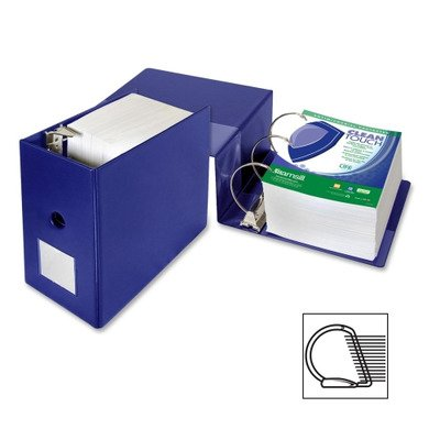 Samsill Clean Touch Antimicrobial - Samsill Clean Touch Antimicrobial D-Ring Binder - 6quot; Binder Capacity - Letter - 8.50quot; Width x