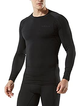 Tesla Tm-mud11-klb_medium Men's Long Sleeve T-shirt Baselayer Cool Dry Compression Top Mud11 1