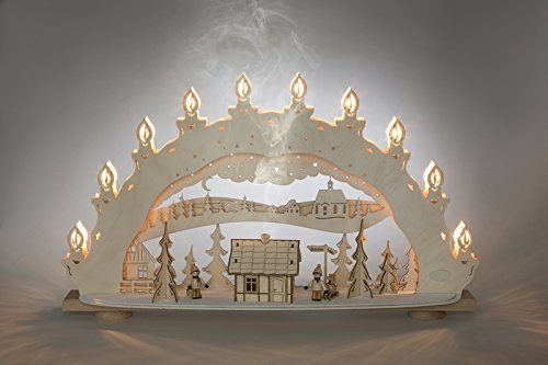 Winter charm country Candle Arch light sheet window lighting light point NEW