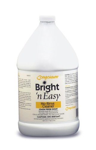 Congoleum Bright 'N Easy No-rinse Cleaner (Concentrate), Gallon