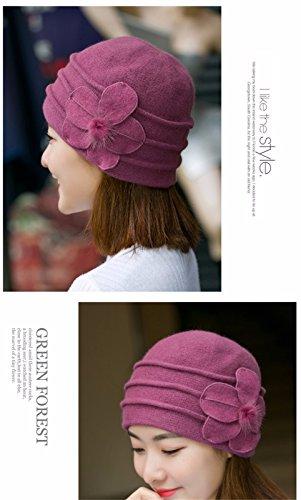 d'hiver chaud pour Violet tricoté et Pull Warm Gqfgyyl wB5fSx